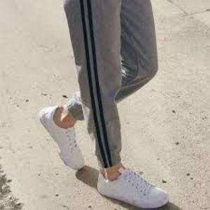 Brandy Melville Side Stripe Sweats